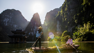 Trang An Landscape Complex. UNESCO World Natural and Cultural Heritage Site