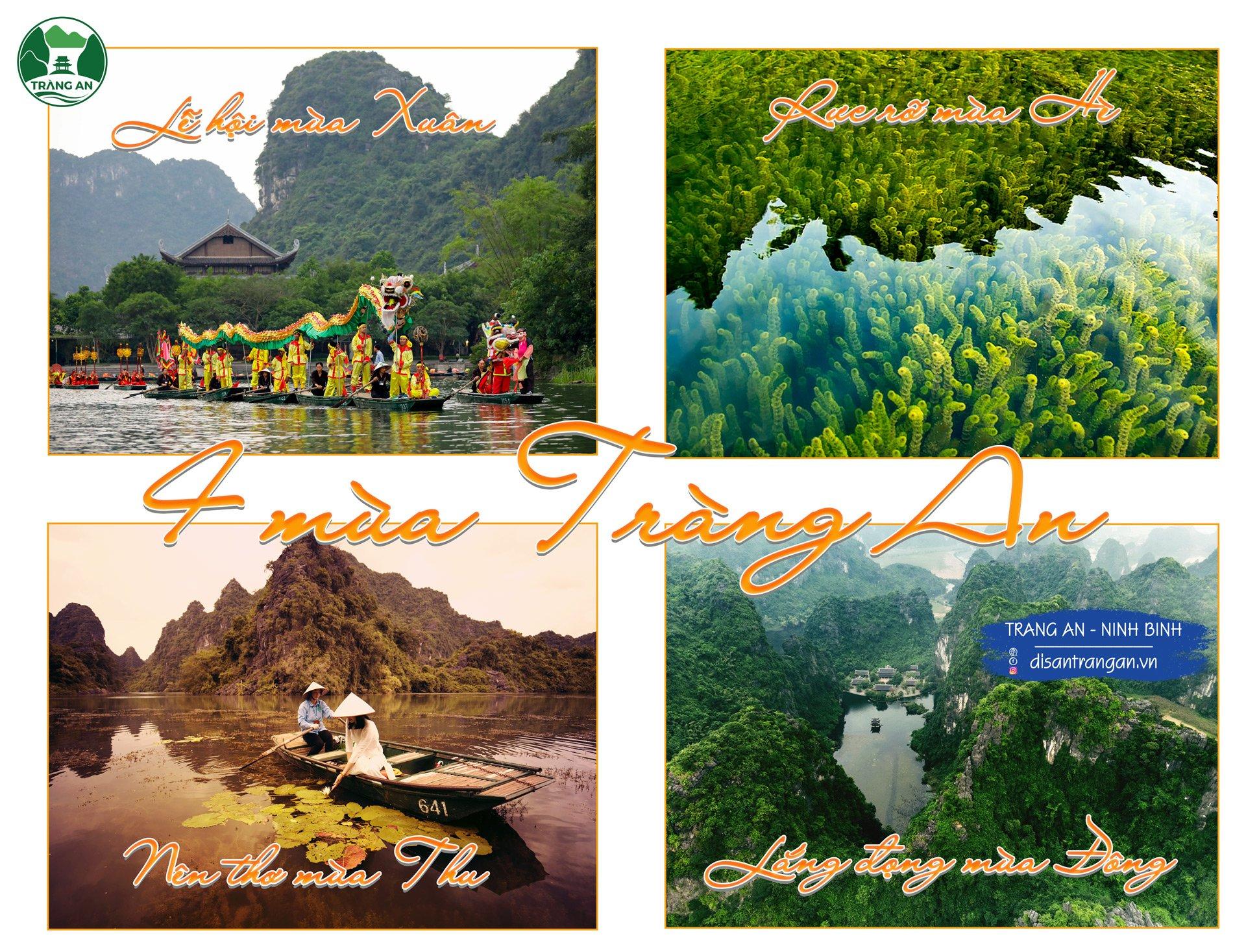 4 mùa du lịch