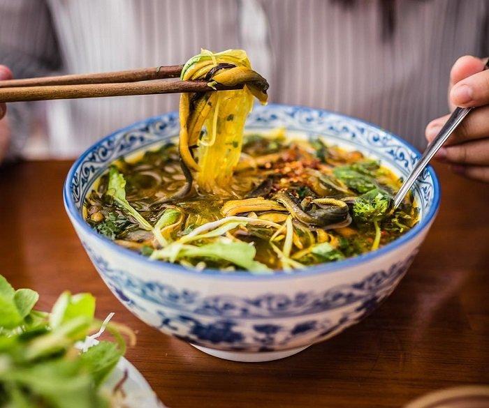 Đặc sản Ninh Bình - Miến lươn
