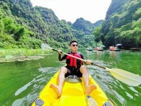 Tràng An Kayak - Giá vé Kayak Tràng An