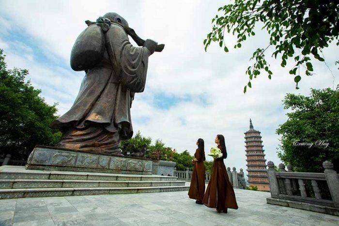 Phật Di lặc Chùa Bái Đính