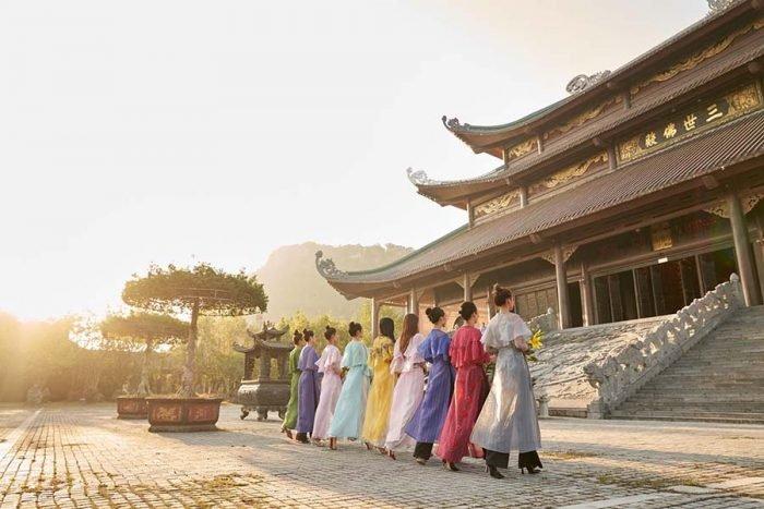Hình ảnh chùa Bái Đính