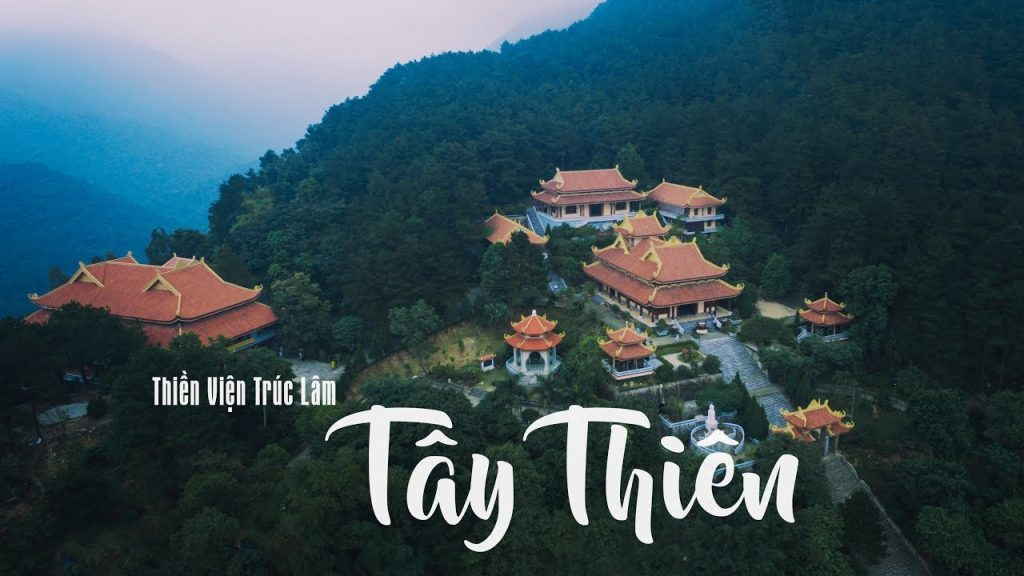 Thiền viện Trúc Lâm Tây Thiên là một trong 3 thiền viện lớn nhất cả nước, địa điểm lý tưởng ngay gần Hà Nội