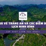 Giá vé Tràng An và các điểm du lịch NInh Bình