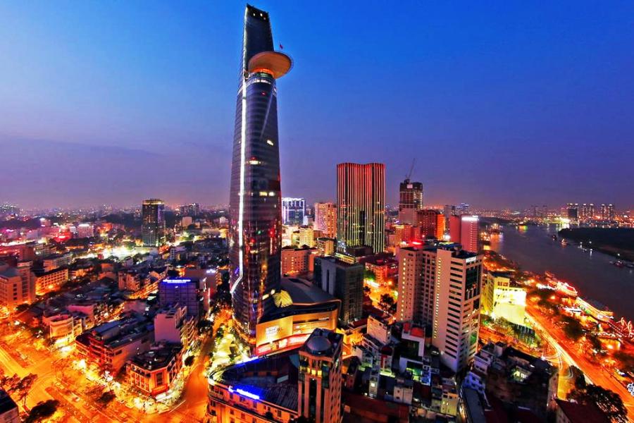 Một góc Sài Gòn về đêm
