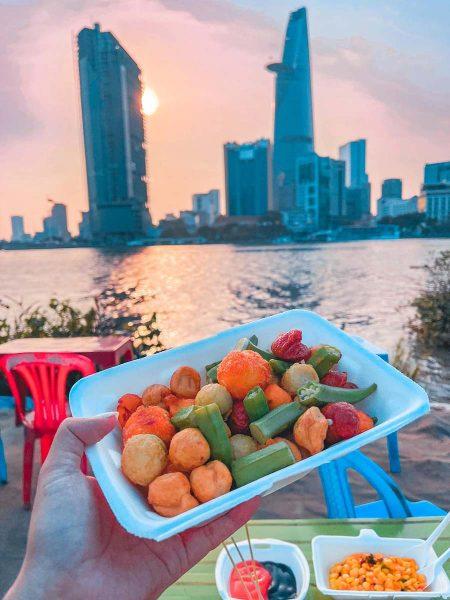 ăn vặt ở Sài Gòn