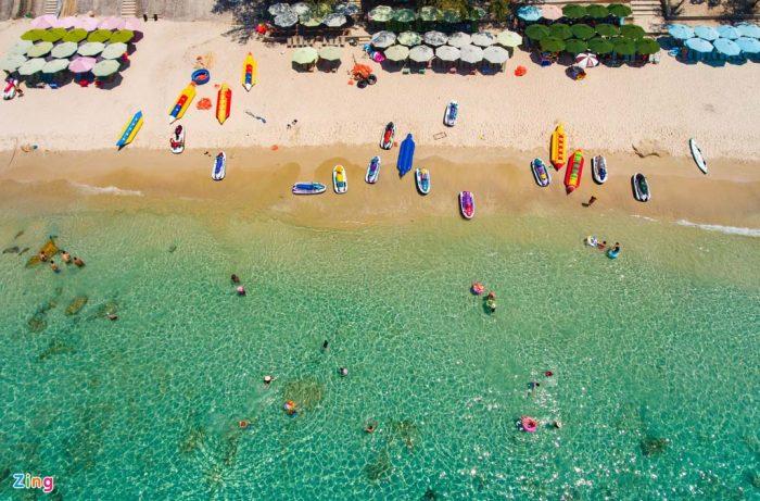 Khánh Hòa có nhiều nơi vui chơi và bãi biển đẹp