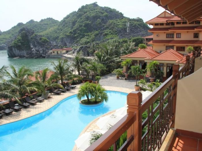 cat ba sunrise resort swimming pool 896 2