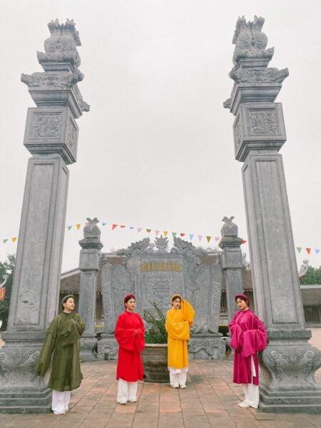 Check in chùa Tam Chúc