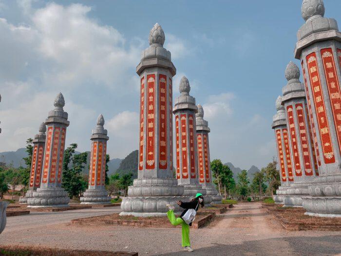 Review chùa Tam Chúc