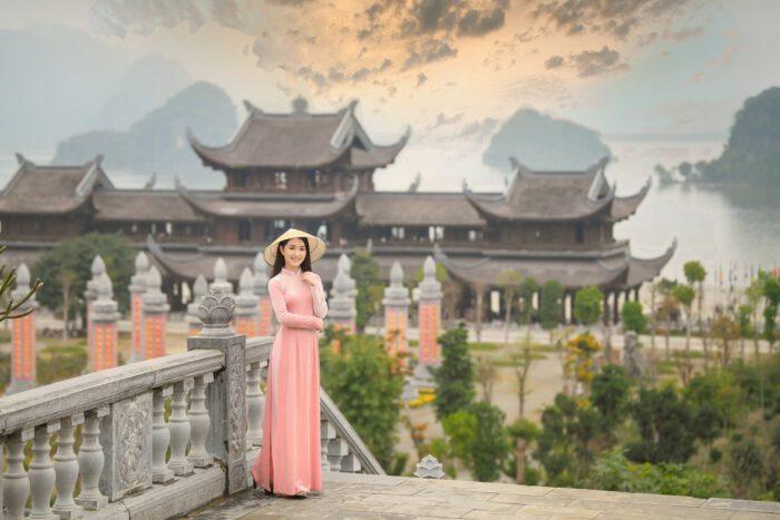 Review, check in chùa Tam Chúc