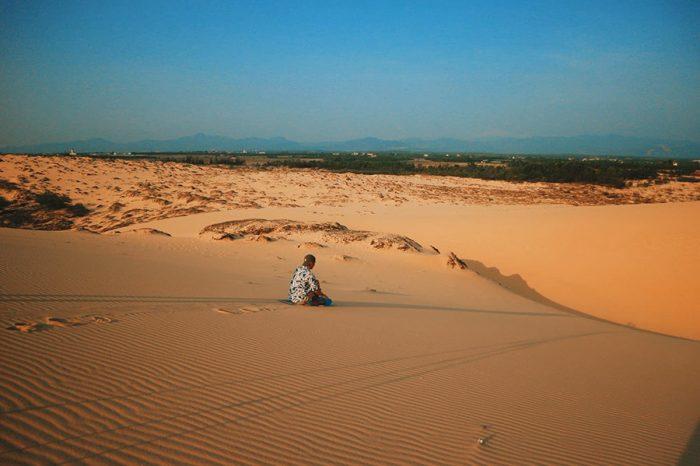Cồn cát Quang Phú (Đức Anh) - du lịch Quảng Bình