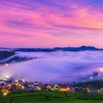 Thành phố trong sương Đà Lạt