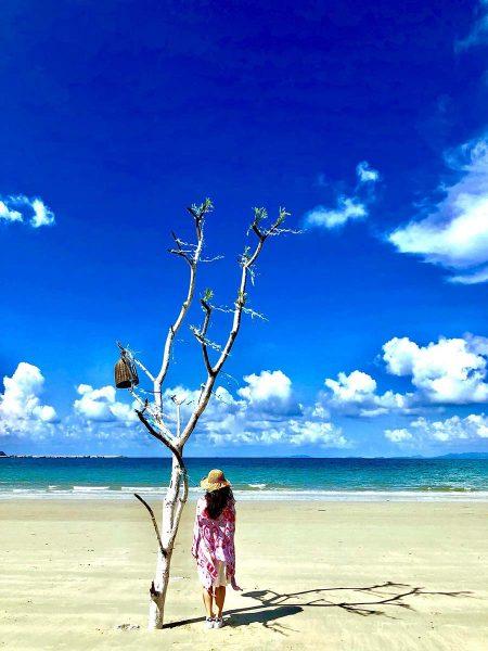 Bãi biển đẹp ở Cô Tô
