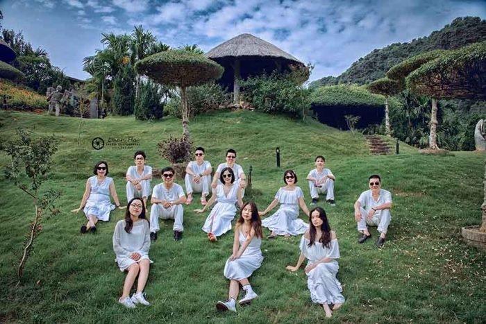 Cắm trại ở khu du lịch sinh thái Thung Nham là trải nghiệm rất tuyệt vời