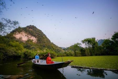 Vẻ đẹp hoang sơ độc đáo của Thung Nham