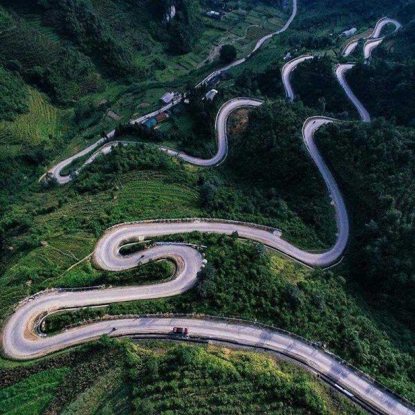 Các cung đường vùng núi Hà Giang