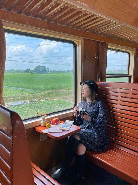 Đi tàu hỏa đến Hà Nội là trải nghiệm thủ vị
