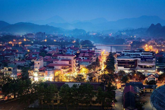 Đêm thành phố Lạng Sơn