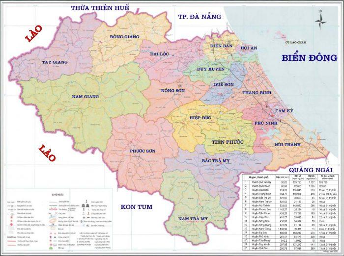 bản đồ quảng nam