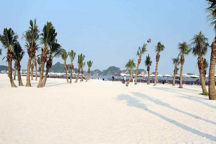 bãi biển Sun World