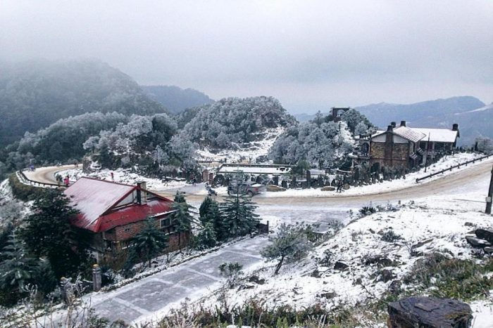 Du lịch Lạng Sơn ngắm tuyết rơi