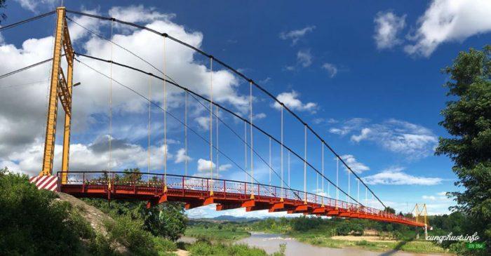 Cầu treo Kon K'lor - Niềm tự hào của người dân