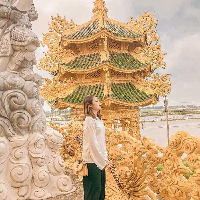 Chùa Phúc Lâm Hưng Yên có kiến trúc độc đáo