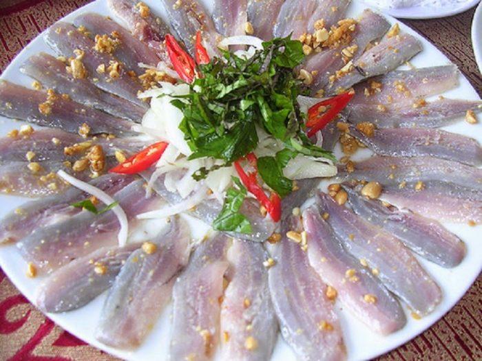 Gỏi nhệch Thái Thụy