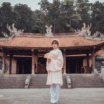 Check in dền Hùng