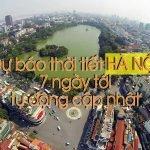 Dự báo thời tiết Hà Nội