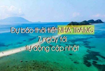 Dự báo thời tiết Nha Trang 3 ngày tới