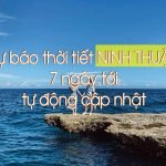 Dự báo thời tiết Ninh Thuânj
