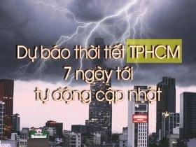 Dự báo thời tiết Sài Gòn ngày mai