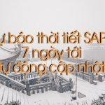 Dự báo thời tiết Sapa ngày mai