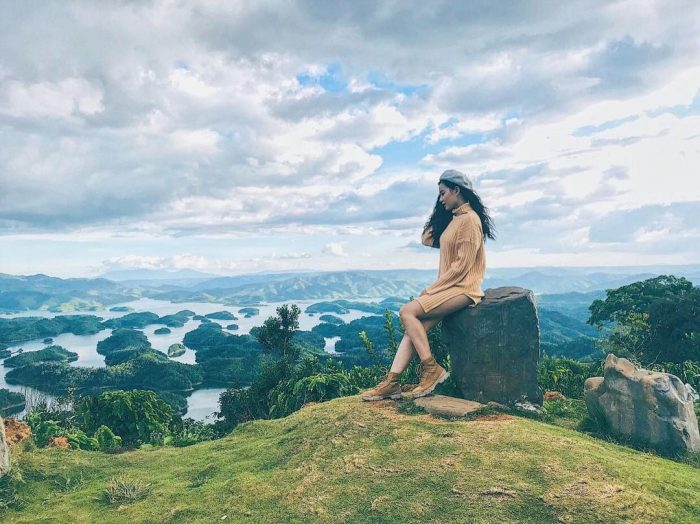Vườn quốc gia Tà Đùng là điểm du lịch Đắk Nông khá ấn tượng