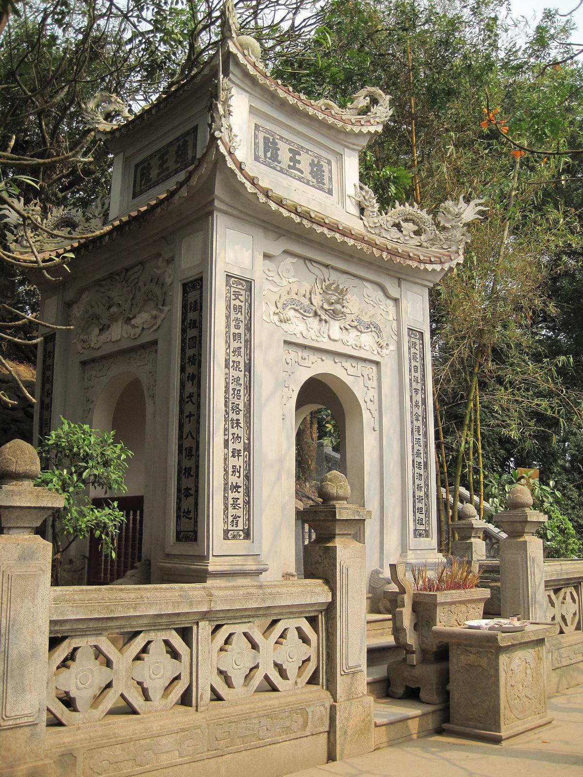 Lăng Hùng Vương - Mùng 10 tháng 3 âm lịch hàng năm là ngày Giỗ tổ Hùng Vương