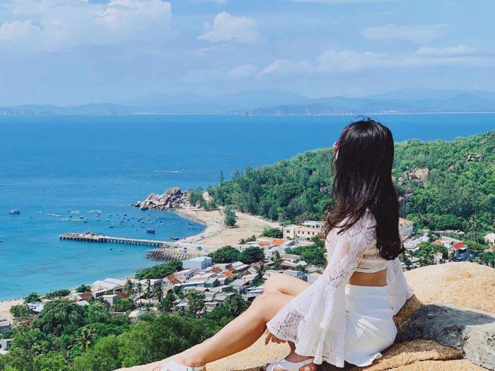 Cù Lao Xanh mang vẻ đẹp xanh mát, yên bình