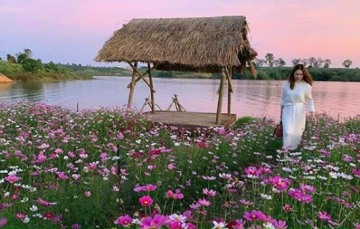 Vườn hoa Kon Trang Long Loi