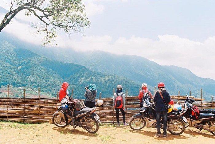 Du lịch Y Tý bằng xe máy khá nguy hiểm