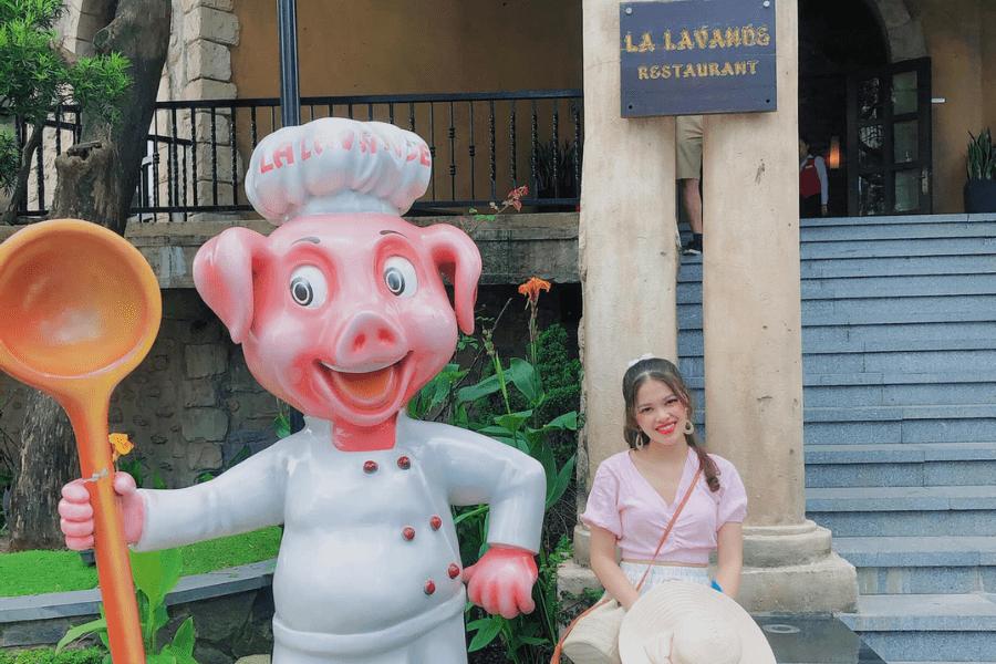 nhà hàng Lavande