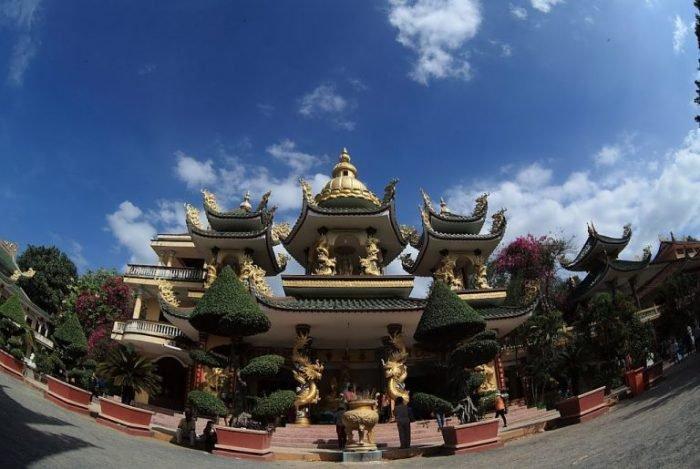 Chùa Thái Sơn Núi Cậu - Du lịch Tây Ninh