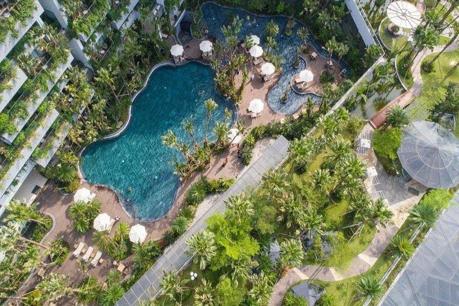 Khu nghỉ dưỡng tọa lạc ven hồ Đại Lải - du lịch Vĩnh Phúc