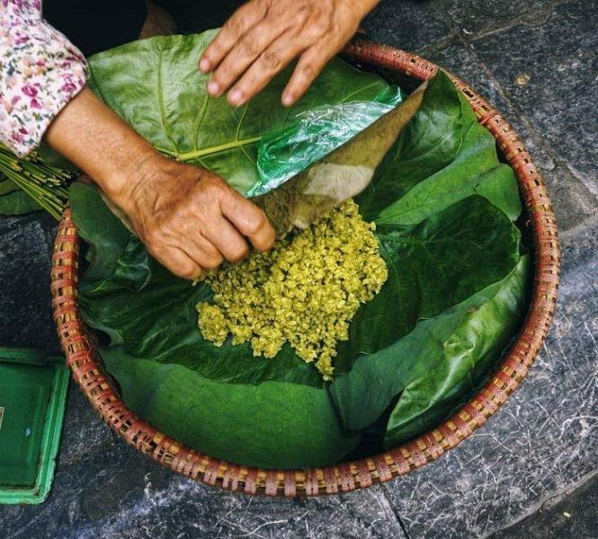 Đặc sản Hà Nội - Cốm Làng Vòng