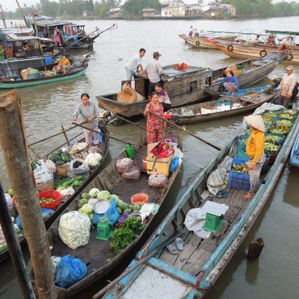 Du lịch Hậu Giang -Chợ nổi Ngã Bảy – Phụng Hiệp