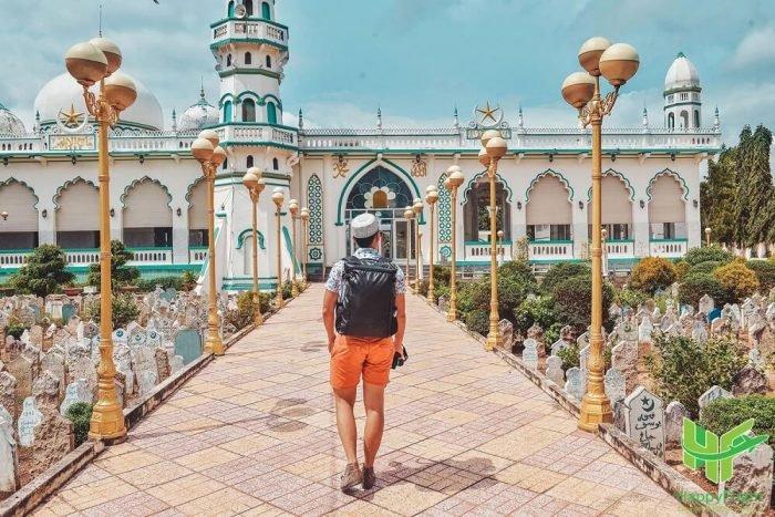 Thánh đường hồi giáo Masjid Jamiul Azhar - Du lịch An Giang