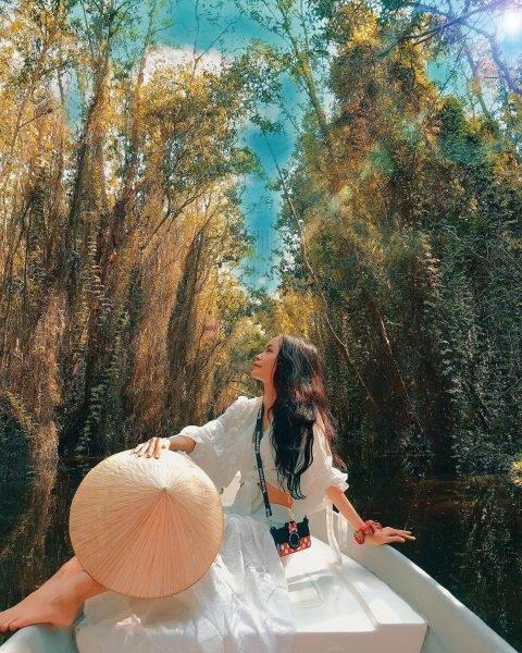 Vẻ đẹp thơ mộng của Rừng tràm Trà Sư - Du lịch An Giang