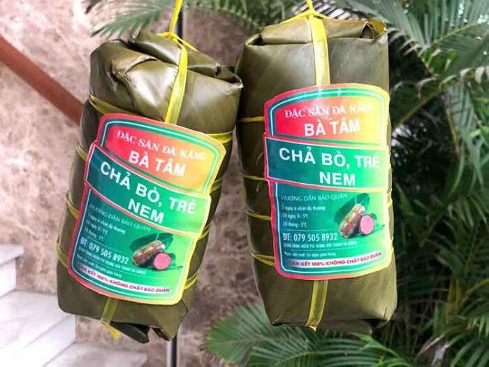 Chả Bò Bà Tâm thương hiệu nổi tiếng nhất Đà Nẵng