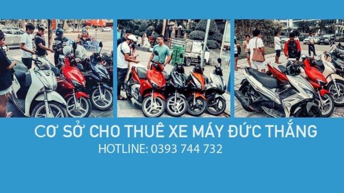 Thuê xe máy ở Ninh Bình -  Đức Thắng