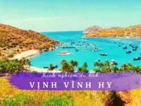 Du lịch vịnh Vĩnh Hy Ninh Thuận
